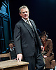 An Enemy of the People <br /> by Henrik Ibsen <br /> a version by Christopher Hampton <br /> at Chichester Festival Theatre, Chichester, West Sussex, Great Britain <br /> Press photocell <br /> 29th April 2016 <br /> <br /> Hugh Bonneville as Dr Tomas Stockmann <br /> <br /> Abigail Cruttenden as Mrs Stockmann <br /> <br /> <br /> <br /> Photograph by Elliott Franks <br /> Image licensed to Elliott Franks Photography Services