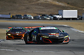 IMSA WeatherTech SportsCar Championship<br /> AMERICA'S TIRE 250<br /> Mazda Raceway Laguna Seca<br /> Monterey, CA USA<br /> Sunday 24 September 2017<br /> 86, Acura, Acura NSX, GTD, Oswaldo Negri Jr., Jeff Segal, 93, Acura, Acura NSX, GTD, Andy Lally, Katherine Legge<br /> World Copyright: Richard Dole<br /> LAT Images<br /> ref: Digital Image DSC_4188