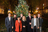 The Board of Directors of Paddington Business Improvement District turn on the Christmas lights in Norfolk Square Gardens, 4/12/13.