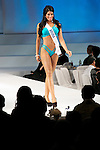 """Miss Aruba Francis Massiel Sosa, November 11, 2014, Tokyo, Japan : Miss Aruba Francis Massiel Sosa walks down the runway during """"The 54th Miss International Beauty Pageant 2014"""" on November 11, 2014 in Tokyo, Japan. The pageant brings women from more than 65 countries and regions to Japan to become new """"Beauty goodwill ambassadors"""" and also donates money to underprivileged children around the world thought their """"Mis International Fund"""". (Photo by Rodrigo Reyes Marin/AFLO)"""