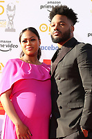 LOS ANGELES - MAR 30:  Zinzi Evans, Ryan Coogler at the 50th NAACP Image Awards - Arrivals at the Dolby Theater on March 30, 2019 in Los Angeles, CA