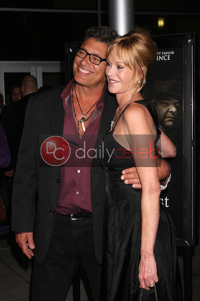 Steven Bauer, Melanie Griffith<br /> at the &quot;Dark Tourist&quot; Los Angeles Premiere, Arclight, Hollywood, CA 08-14-13<br /> David Edwards/DailyCeleb.Com 818-249-4998