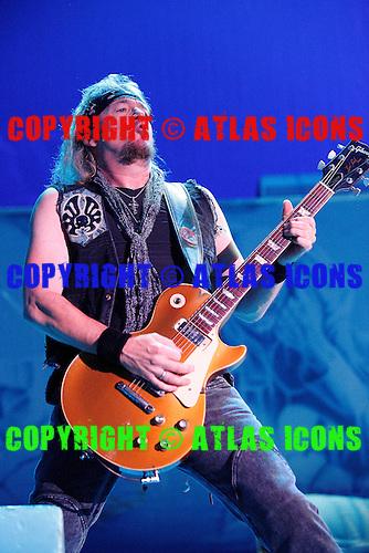 Iron Maiden, live, 2012, Ken Settle/atlasicons.com