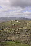 Israel, Upper Galilee, a view from Gush Halav(Jish)