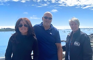 SCORA's Fastnet 450 team for the inaugural race were Johanna Murphy (Commodore), article author Mark Mansfield, and Annamarie Murphy (Rear Admiral, Royal Cork YC)