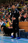 i09.11.2019, Hansehalle Luebeck, GER,  2.Bundesliga Handball VfL Luebeck-Schwartau - TV Emsdetten<br /> <br /> im Bild / picture shows<br /> Trainer Piotr Przybecki VfL Luebeck-Schwartau<br /> <br /> Foto © nordphoto / Tauchnitz