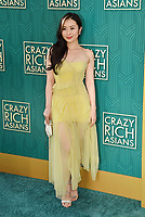 HOLLYWOOD, CA - AUGUST 07:  Victoria Loke arrives at the Warner Bros. Pictures' 'Crazy Rich Asians' premiere at the TCL Chinese Theatre IMAX on August 7, 2018 in Hollywood, California.<br /> CAP/ROT/TM<br /> &copy;TM/ROT/Capital Pictures
