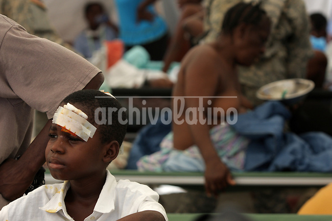 The public hospital in Haiti after the earthquake in Jan. 2010. (Australfoto/Douglas Engle)