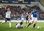 Fraser Aird on the attack