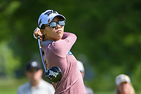 Lydia Ko (NZL) watches her tee shot on 12 during the round 1 of the KPMG Women's PGA Championship, Hazeltine National, Chaska, Minnesota, USA. 6/20/2019.<br /> Picture: Golffile | Ken Murray<br /> <br /> <br /> All photo usage must carry mandatory copyright credit (© Golffile | Ken Murray)