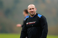 Carl Fearns looks on. Bath Rugby training session on November 25, 2014 at Farleigh House in Bath, England. Photo by: Patrick Khachfe / Onside Images