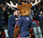 11.02.2019: Ross County v Inverness CT: John Robertson lands a hook on Staggie