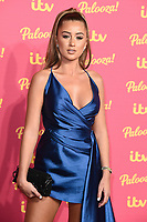 LONDON, UK. November 12, 2019: Georgia Steel arriving for the ITV Palooza at the Royal Festival Hall, London.<br /> Picture: Steve Vas/Featureflash