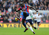 5th November 2017, Wembley Stadium, London England; EPL Premier League football, Tottenham Hotspur versus Crystal Palace; Mamadou Sakho of Crystal Palace in action