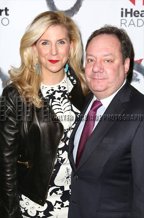Margo Nederlander and Jimmy Nederlander attends the Broadway Opening Night performance of 'The Last Ship' at the Neil Simon Theatre on October 26, 2014 in New York City.