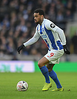 Brighton & Hove Albion's Jurgen Locadia<br /> <br /> Photographer David Horton/CameraSport<br /> <br /> Emirates FA Cup Fourth Round - Brighton and Hove Albion v West Bromwich Albion - Saturday 26th January 2019 - The Amex Stadium - Brighton<br />  <br /> World Copyright © 2019 CameraSport. All rights reserved. 43 Linden Ave. Countesthorpe. Leicester. England. LE8 5PG - Tel: +44 (0) 116 277 4147 - admin@camerasport.com - www.camerasport.com