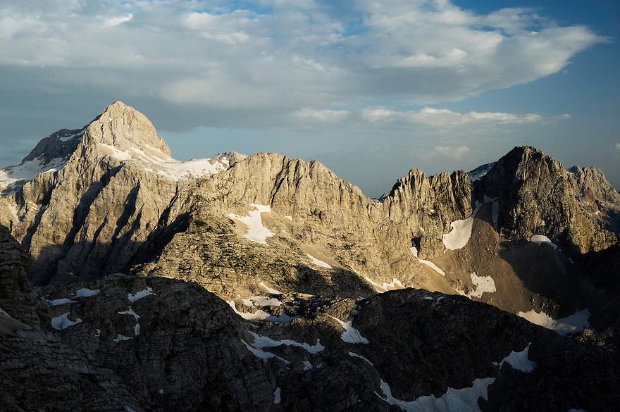 Mount Triglav, Julian Alps<br /> Triglav National Park, Slovenia<br /> July 2009