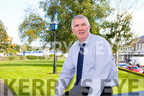 Bill Stack on his last day in Killarney Garda Station  on Friday