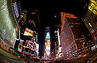 Nov. 18, 2010; Times Square, New York City..Photo by Matt Cashore/University of Notre Dame