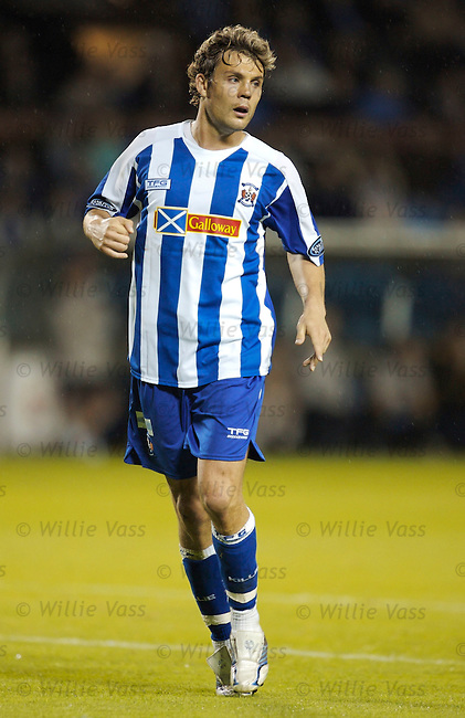 David Fernandez, Kilmarnock.stock season 2006-2007.pic willie vass