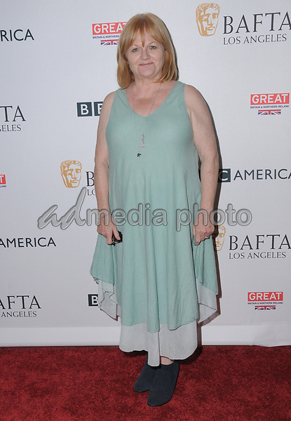 15 September  2017 - Beverly Hills, California - Lesley Nicol. 2017 BAFTA Los Angeles BBC America TV Tea Party  held at The Beverly Hilton Hotel in Beverly Hills. Photo Credit: Birdie Thompson/AdMedia