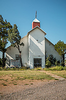 Alanreed Baptist Church, established in l904 is the oldest church on Route 66 in Texas.