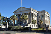 Stock photo of United States Custom House Charleston ,SC