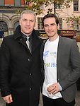 Chris Curtis and Colin O'Donoghue Fay at the official opening of the Local Heroes office on West street. Photo: Colin Bell/pressphotos.ie