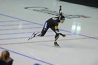 SPEEDSKATING: CALGARY: 13-11-2015, Olympic Oval, ISU World Cup, 500m, Nao Kodaira (JPN), ©foto Martin de Jong