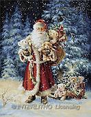 Dona Gelsinger, CHRISTMAS SANTA, SNOWMAN, classical, paintings, santa, teddies(USGE9810,#X#) Weihnachtsmänner, Papá Noel, Weihnachten, Navidad, illustrations, pinturas klassisch, clásico