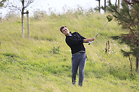 Kristian Krogh Johannessen (NOR) in the rough on the 2nd during Round 1 of the Bridgestone Challenge 2017 at the Luton Hoo Hotel Golf &amp; Spa, Luton, Bedfordshire, England. 07/09/2017<br /> Picture: Golffile   Thos Caffrey<br /> <br /> <br /> All photo usage must carry mandatory copyright credit     (&copy; Golffile   Thos Caffrey)