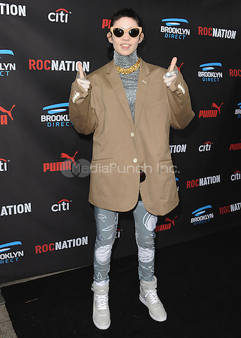 BEVERLY HILLS, CA - FEBRUARY 7:  Grimes at the 5th Annual Roc Nation Pre-Grammy Brunch at Roc Nation offices on February 7, 2015 in Beverly Hills, California. SKPG/Mediapunch