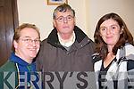 MEETING: John Stack, Ballydonoghue CC, Joe O'Connor, Reachtaire CC and Jenny O'Neill, Ballydonoghue CC who attended the Comhaltas AGM in the Ceolann Centre, Lixnaw on Sunday.   Copyright Kerry's Eye 2008
