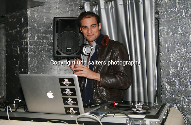 DJ Louie XIV attends Cosmopolitan Kisses For The Troops Official After-Party Hosted by Lisalla Montenegro At The Polar Lounge in The Marcel At Gramercy, NY