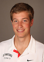 STANFORD, CA - NOVEMBER 16:  Jamie Hutter of the Stanford Cardinal during men's tennis picture day on November 16, 2009 in Stanford, California.