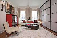 Living Room at 31 East 28th Street