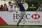 Martin Kaymer tees off on the 9th tee during Day 2 Friday of the Abu Dhabi HSBC Golf Championship, 21st January 2011..(Picture Eoin Clarke/www.golffile.ie)