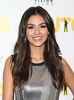 WESTWOOD, CA - April 13: Victoria Justice, At Premiere Of Swen Group's &quot;The Outcasts&quot; At The Landmark Regent  In California on April 13, 2017. <br /> CAP/MPIFS<br /> &copy;MPIFS/Capital Pictures
