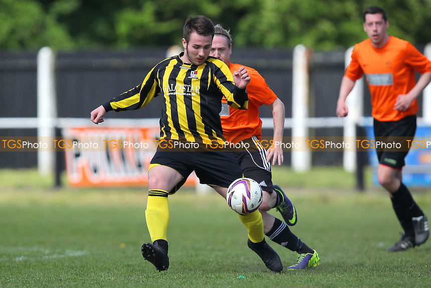 Old Bramstonians vs Broomfield - Braintree & North Essex Sunday League Neil Horrocks Memorial Invitation Plate Final at Halstead Town FC, Halstead, Essex - 10/05/15 - MANDATORY CREDIT: Gavin Ellis/TGSPHOTO - Self billing applies where appropriate - contact@tgsphoto.co.uk - NO UNPAID USE
