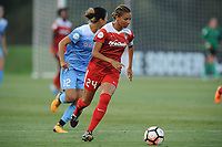 Boyds, MD -Saturday August 26, 2017: Estelle Johnson during a regular season National Women's Soccer League (NWSL) match between the Washington Spirit and the Chicago Red Stars at Maureen Hendricks Field, Maryland SoccerPlex.