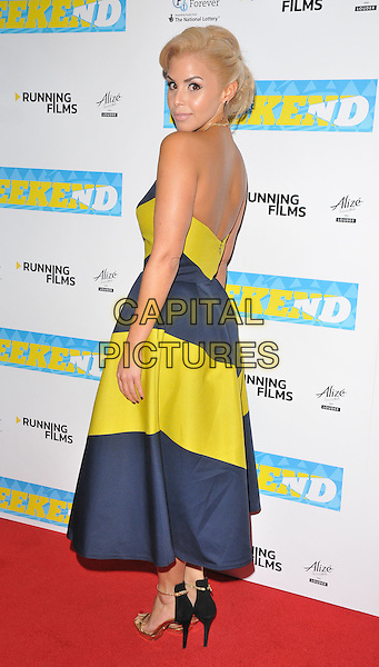 Shanie Ryan at the &quot;The Weekend&quot; UK film premiere, Vue West End cinema, Leicester Square, London, England, UK, on Monday 28 November 2016. <br /> CAP/CAN<br /> &copy;CAN/Capital Pictures