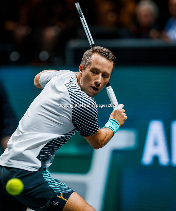 Rotterdam, The Netherlands, 10 Februari 2020, ABNAMRO World Tennis Tournament, Ahoy,  Philippe Kohlschreiber (GER)<br /> Photo: www.tennisimages.com