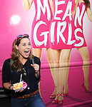 Erika Henningsen from 'Mean Girls' cast visits the 'Mean Girls' themed Food Truck in celebration of 'Mean Girls' Box Office Opening Day on Broadway in Times Square on October 3, 2017 in New York City.
