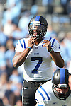 30 November 2013: Duke's Anthony Boone. The University of North Carolina Tar Heels played the Duke University Blue Devils at Keenan Memorial Stadium in Chapel Hill, NC in a 2013 NCAA Division I Football game. Duke won the game 27-25.