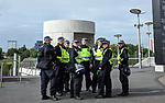 A heavy police presence before kick-off during the premier league match at the London Stadium, London. Picture date 23rd September 2017. Picture credit should read: David Klein/Sportimage