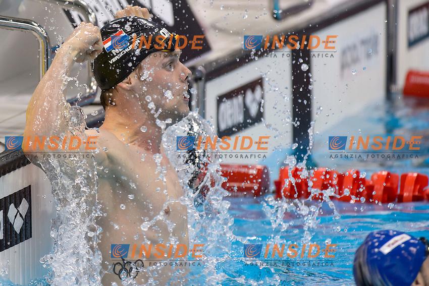 Stephan VERSCHUREN NED Gold Medal <br /> 200m Freestyle Men Final <br /> London, Queen Elizabeth II Olympic Park Pool <br /> LEN 2016 European Aquatics Elite Championships <br /> Swimming<br /> Day 10 18-05-2016<br /> Photo Andrea Staccioli/Deepbluemedia/Insidefoto