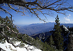 View from Long Valley in the San Jacinto Mountains