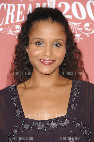 "Sydney Tamiia Poitier at Spike TV's ""Scream 2007"" Awards honoring the best in horror, sci-fi, fantasy & comic genres, at the Greak Theatre, Hollywood..October 20, 2007  Los Angeles, CA.Picture: Paul Smith / Featureflash"