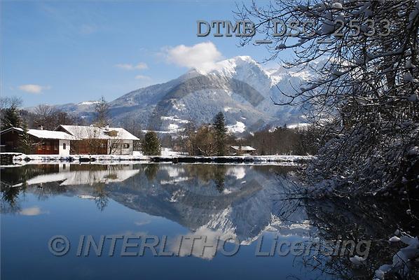 Gerhard, CHRISTMAS LANDSCAPE, photos(DTMBDSC-2533,#XL#) Landschaften, Weihnachten, paisajes, Navidad