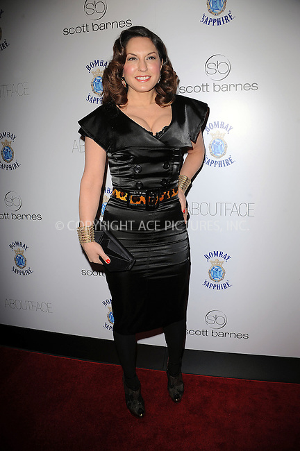 WWW.ACEPIXS.COM . . . . . ....January 20 2010, New York City....Singer Sylvia Tosun arriving at the launch party for Scott Barnes' 'About Face' book at Provocateur at The Hotel Gansevoort on January 20, 2010 in New York City.....Please byline: KRISTIN CALLAHAN - ACEPIXS.COM.. . . . . . ..Ace Pictures, Inc:  ..tel: (212) 243 8787 or (646) 769 0430..e-mail: info@acepixs.com..web: http://www.acepixs.com